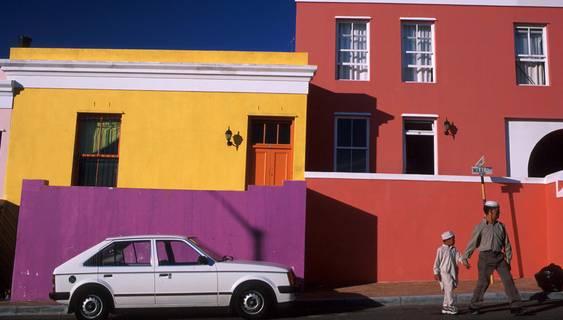 In Kapstadts malaiischem Viertel Bo-Kaap.  © Christian Heeb