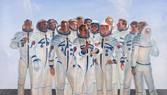 © Jurij Korolev, Kosmonauten, Foto Carl Brunn